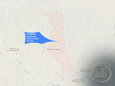 PETA : Desa Ponggang, Kecamatan Serang Panjang