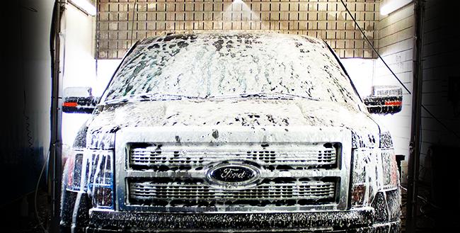 mycie samochodu bez boxu dachowego