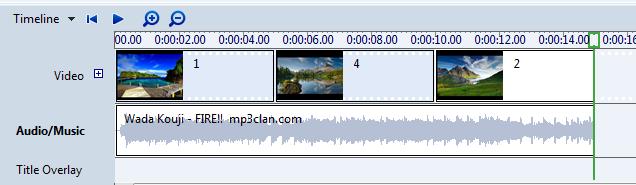 Menambahkan Music atau Audio kedalam Project Video