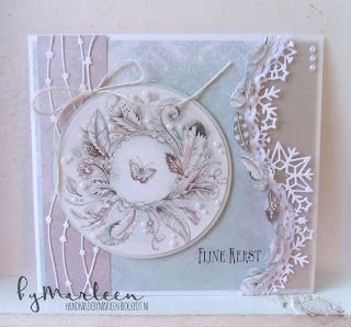 Image result for cards made using Ice Crystal Border die LR0486