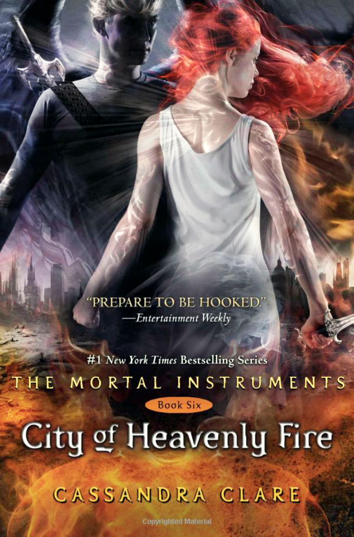 City Of Heavenly Fire Cassandra Clare cover The Mortal Instruments