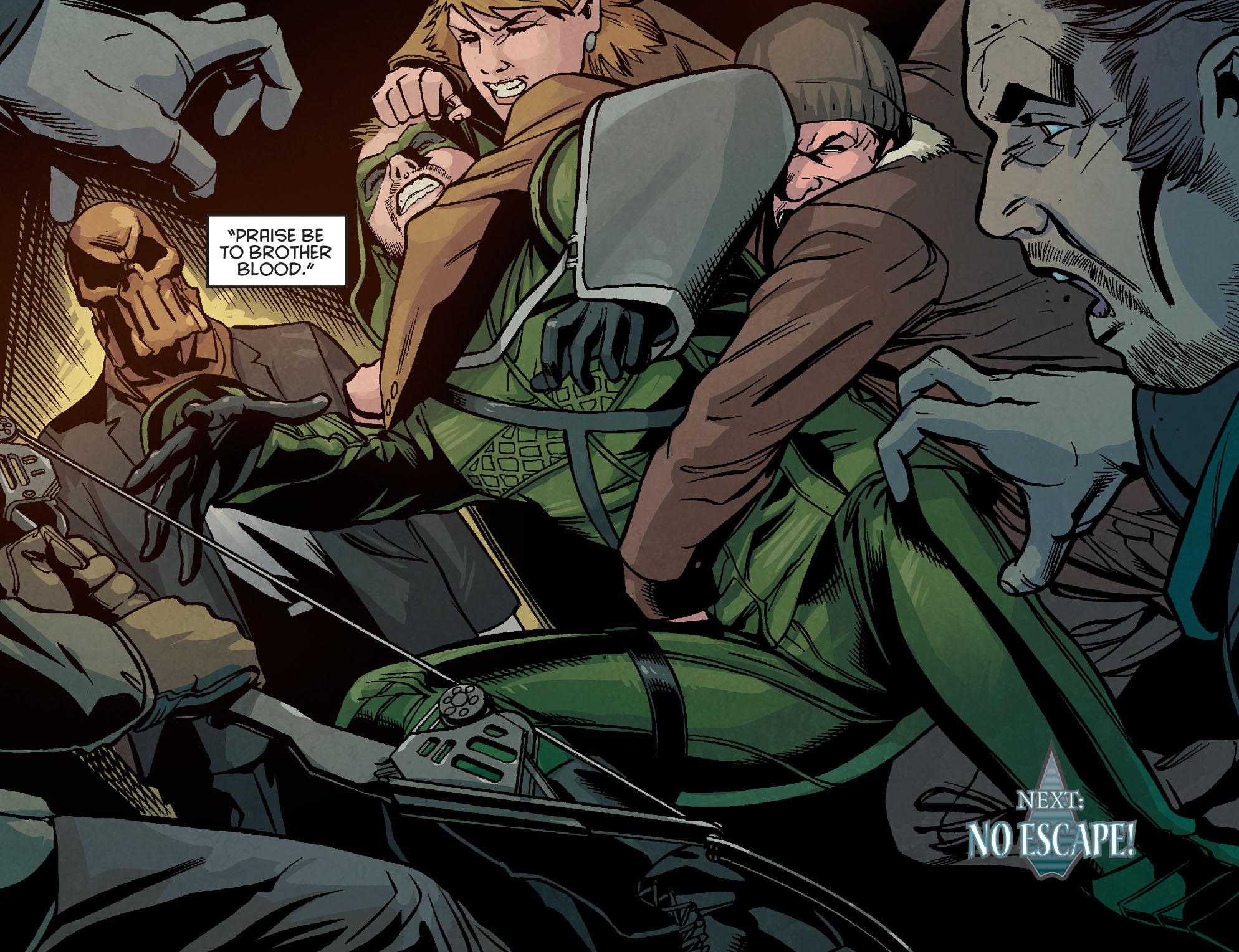 Read online Arrow: Season 2.5 [I] comic -  Issue #5 - 20