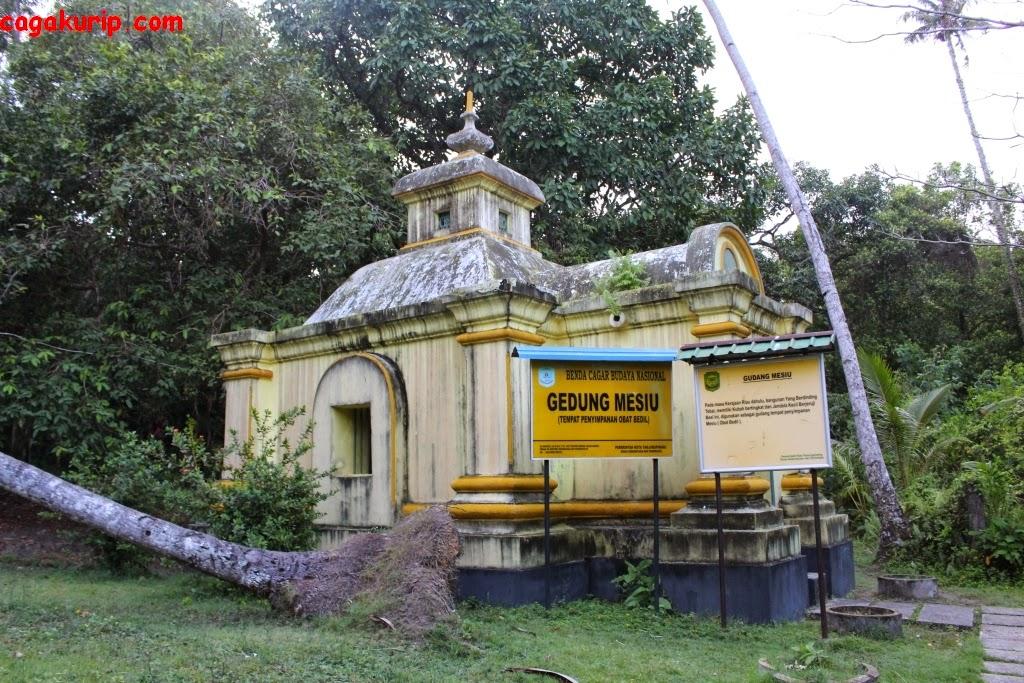 Gudang Mesiu Pulau Penyengat