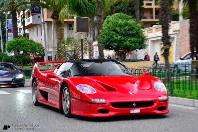 フェラーリ壁紙「Ferrari F50」