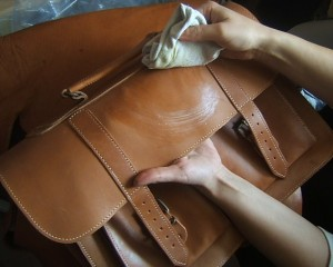 Caring For a Leather Bag - Condition your leather bag monthly