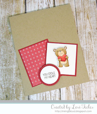 You Stole My Heart card-designed by Lori Tecler/Inking Aloud-stamps and dies from Lil' Inker Designs