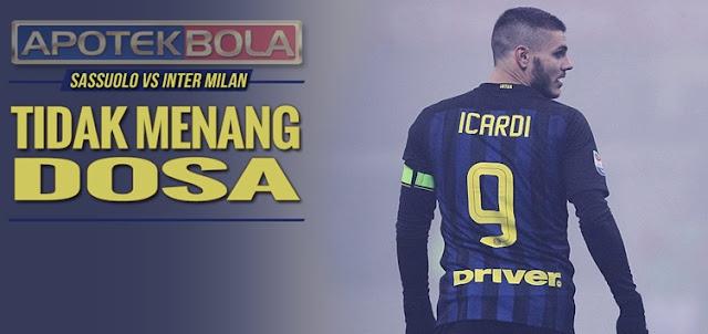 Prediksi Pertandingan Sassuolo vs Inter Milan 18 Desember 2016