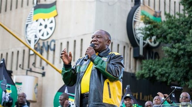 South African MPs re-elect Cyril Ramaphosa as president