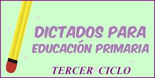 DICTADOS - | ESCUELA 2018 - Primaria
