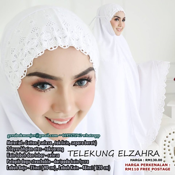 TELEKUNG COTTON ELZAHRA