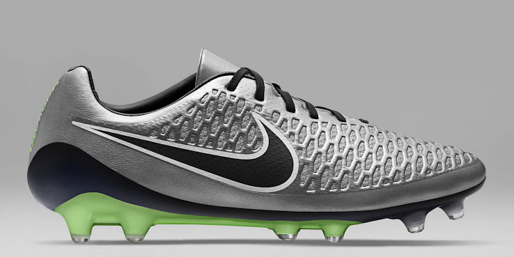 4985f455beb9 Nike Magista Opus Metallic Pewter   Black   White   Ghost Green