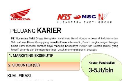 Lowongan Kerja di PT.Nusantara Sakti Group Beurawe