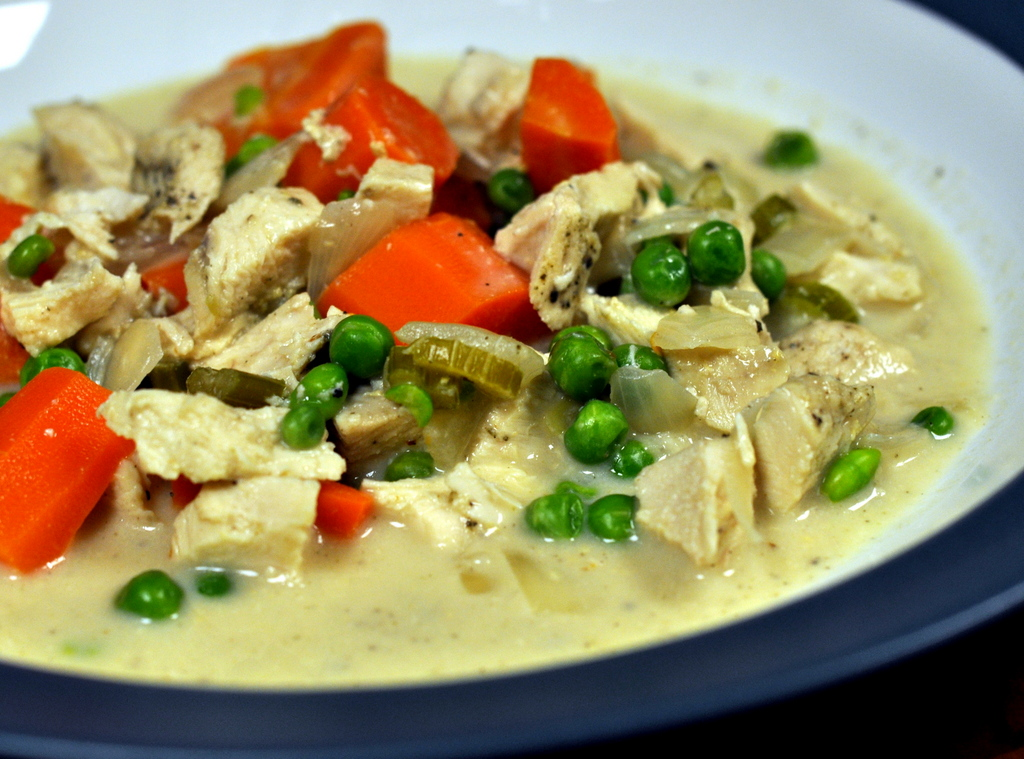Creamy Slow-Cooker Chicken with Vegetables - Photo by Taste As You Go