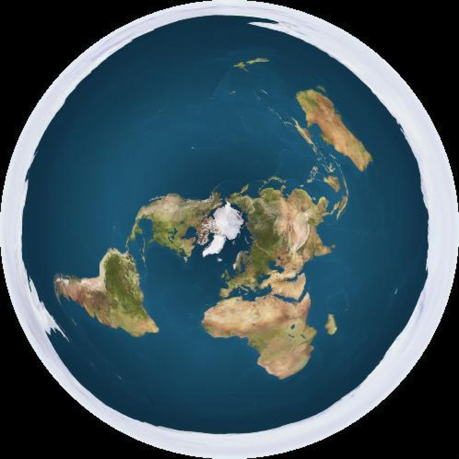 Image result for flat earth circle