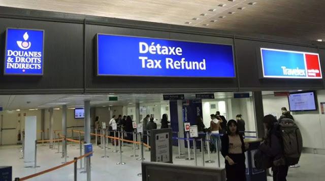 Détaxe Tax Refund em Paris