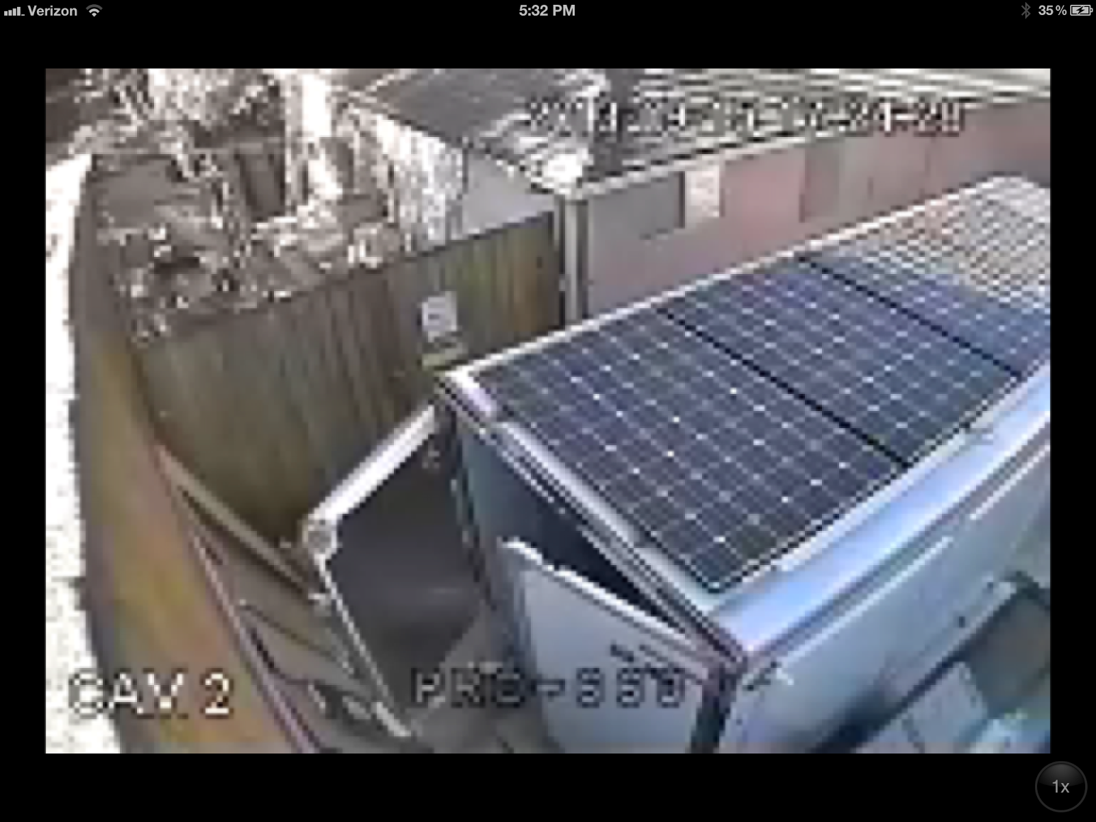 2013 CarMate 100% Solar Heated and Cooled Over The Top Cargo Trailer : Problems with the Solar