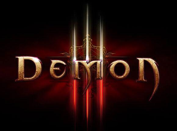 Diablo III Inspired Text Effect