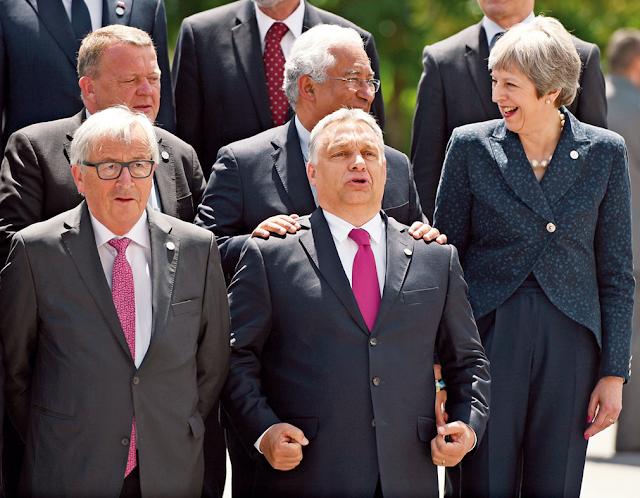 A diferença de ter um primeiro-ministro competente e confiante