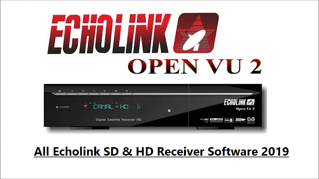 All Echolink SD & HD Receiver Software 2019