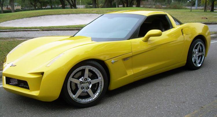 C7 Corvette Stingray Concept Replica Looks Just Plain Wrong