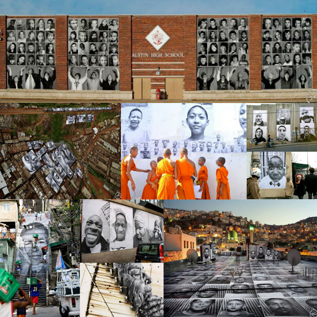 Proyectos de JR por todo el mundo