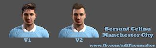 Face Bersant Celina - Manchester City Pes 2013 By Adi Gjuzi