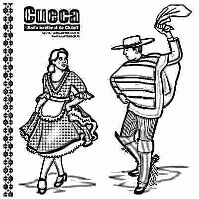 Dibujos Para Colorear De Personas Bailando Imagui