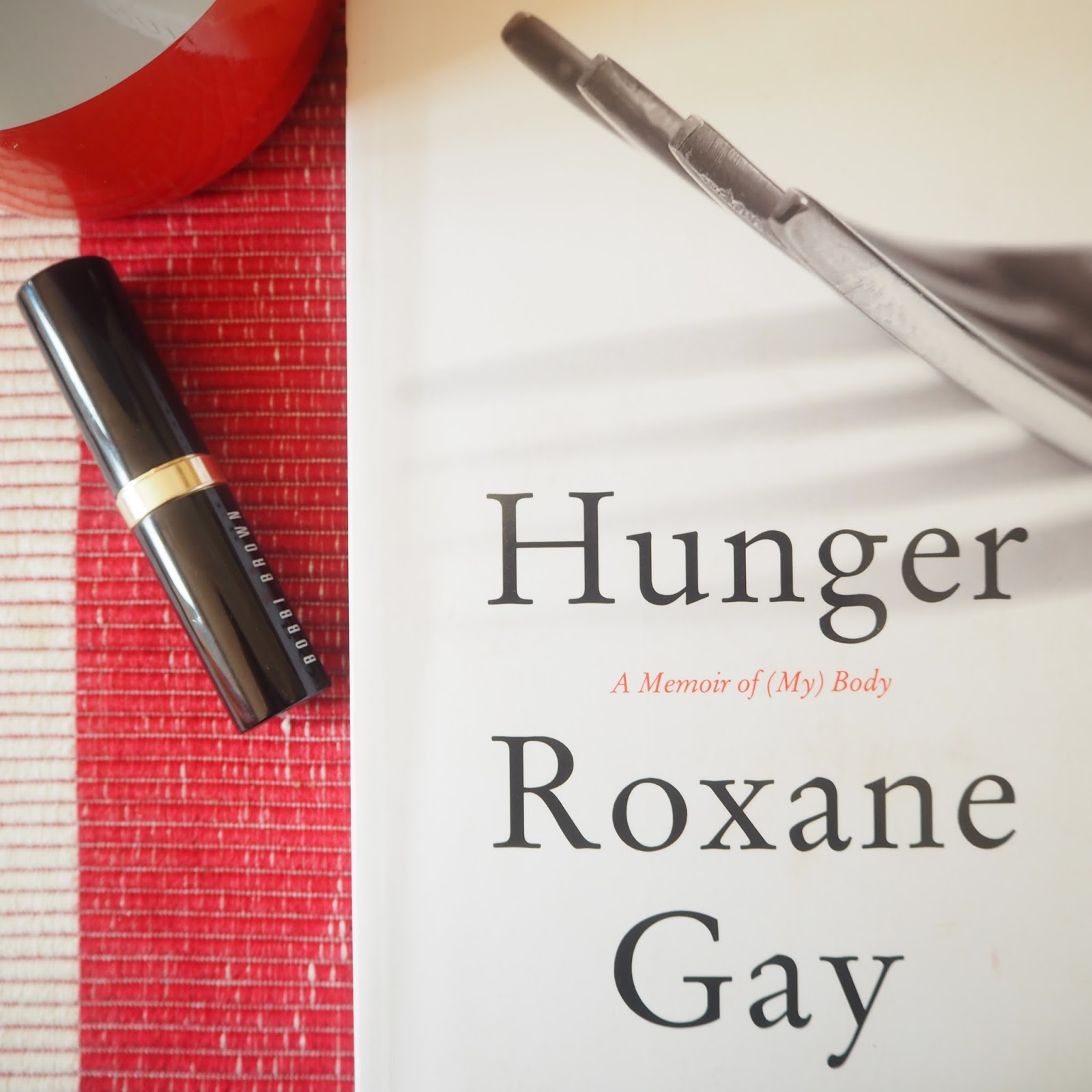 Hunger by Roxane Gay Flat Lay
