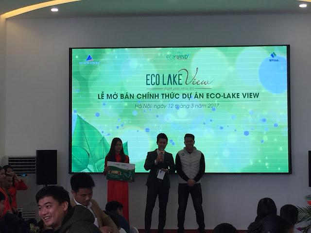 Cư dân Eco Lake View may mắn nhận giải thưởng