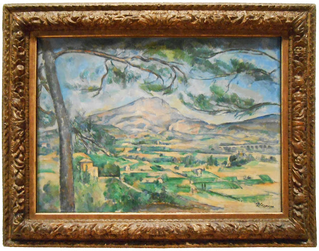 Paul Cézanne The Mont Sainte-Victiore