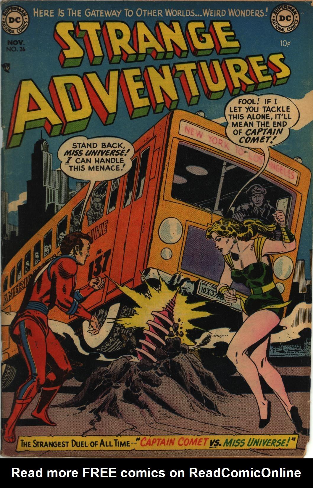 Strange Adventures (1950) issue 26 - Page 1