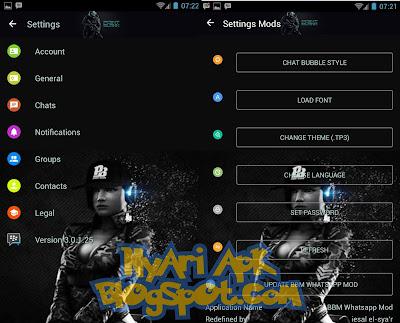 Download BBM Mod Point Blank Versi 3.0.1.25 Apk Terbaru Untuk Android