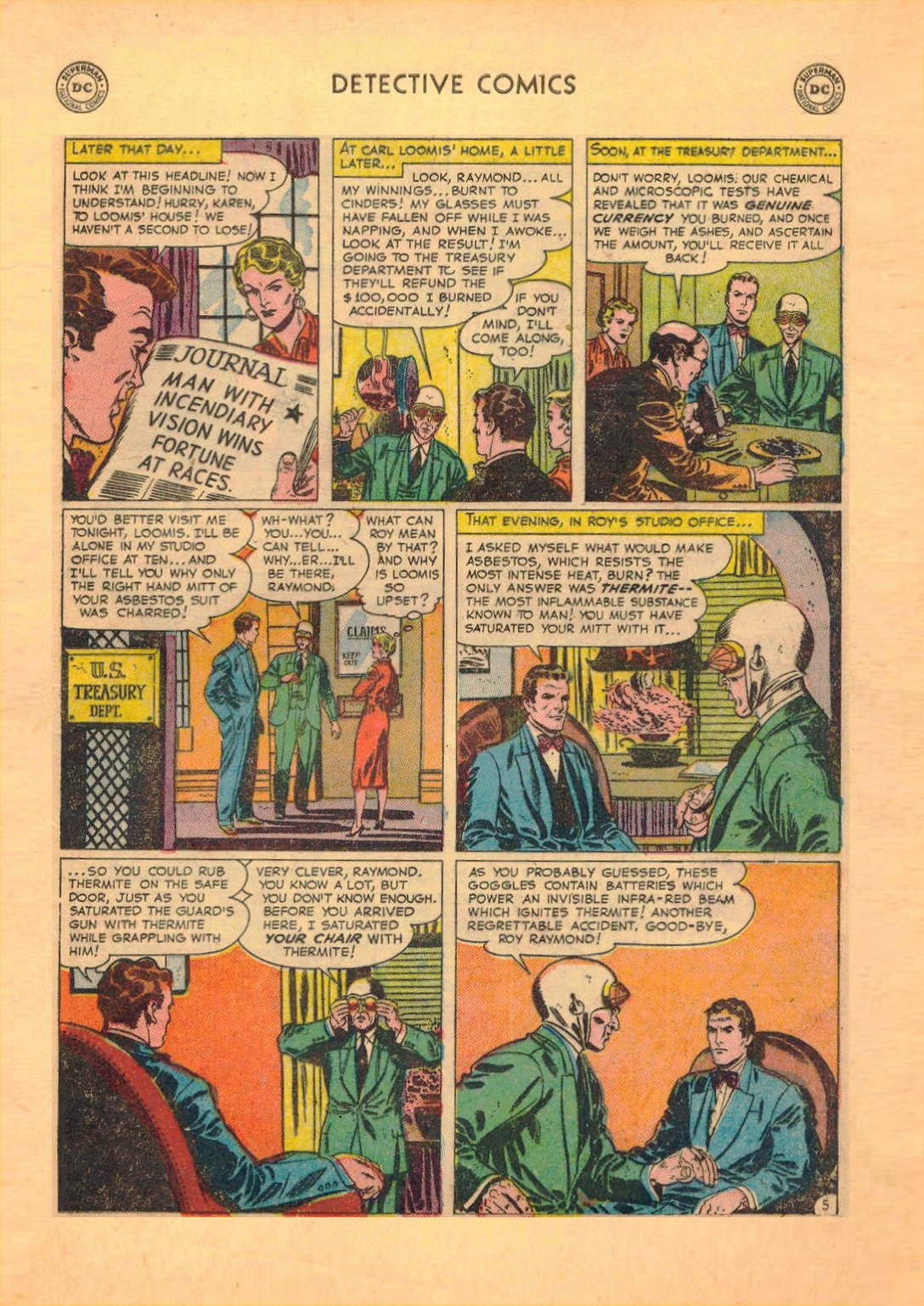Read online Detective Comics (1937) comic -  Issue #182 - 20