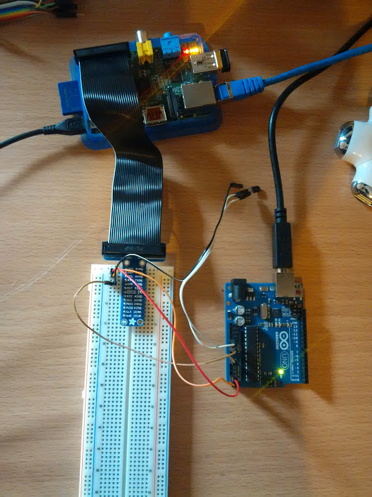 [Raspberry, Arduino] First Project