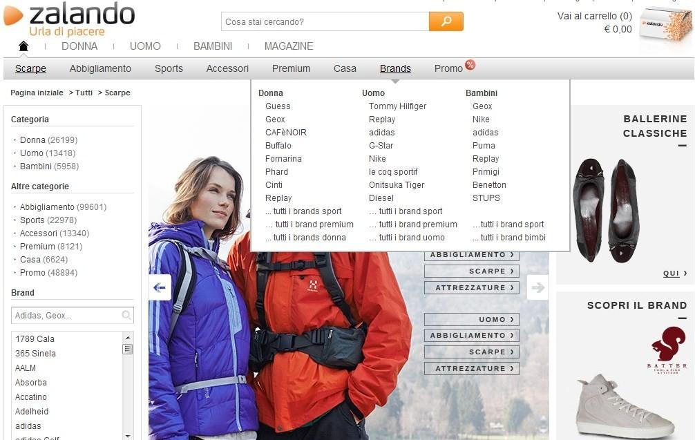 new style e8bdb e4b90 I love my Blog: Vivi ZALANDO con i codici esclusivi di ESaldi.
