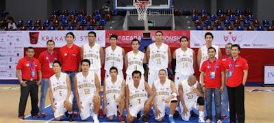 Jadwal Pertandingan Basket Putra Putri Sea Games