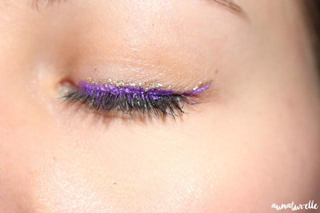 tuto : maquillage yeux verts