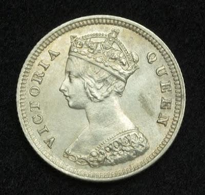 Hong Kong Cents Coin Victoria