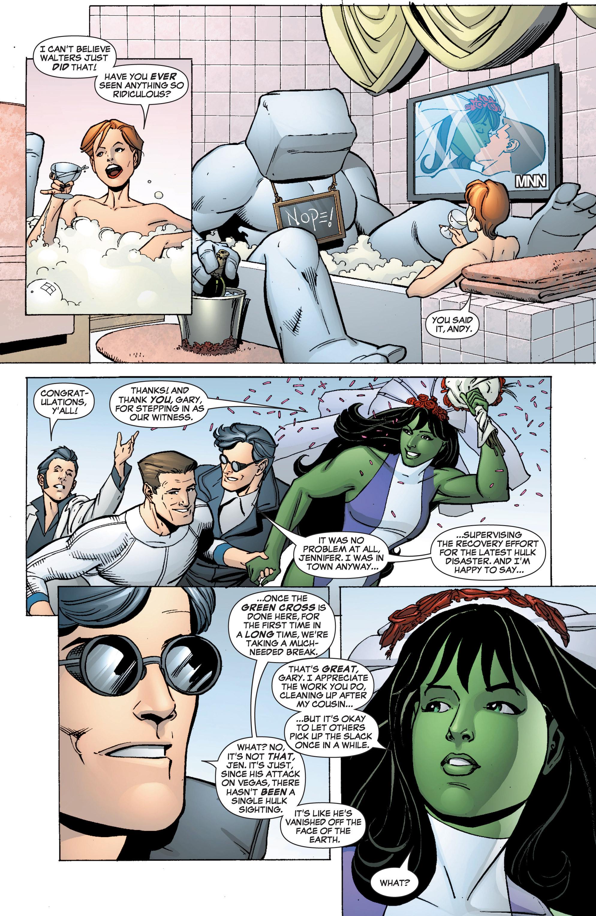 Read online She-Hulk (2005) comic -  Issue #9 - 9