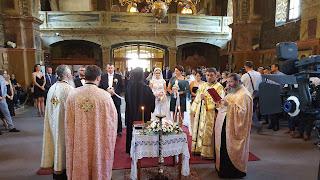 Cununia Tinerilor Dan-Nicolae si Ioana-Emilia, Manastirea Nicula