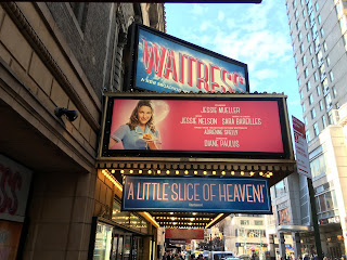 Waitress Broadway theater New York City