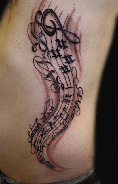 60 ideias de Tatuagens para os amantes da música