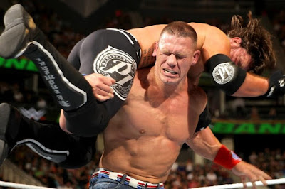 WWE Summerslam 2016 John Cena vs AJ Styles Match