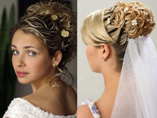 Wedding Hairstyles Updos With Veil And Tiara Best Hairs