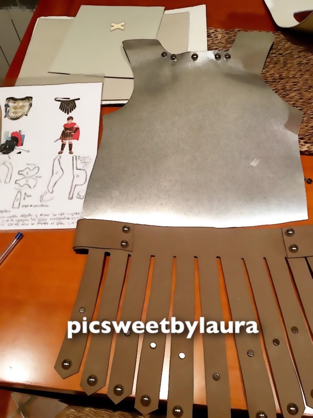 PIC SWEET by Laura: DISFRAZ SOLDADO ROMANO CASERO PASO A PASO (1era ...