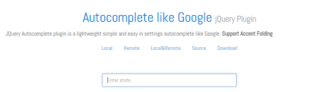 xDSoft Autocomplete Like Google