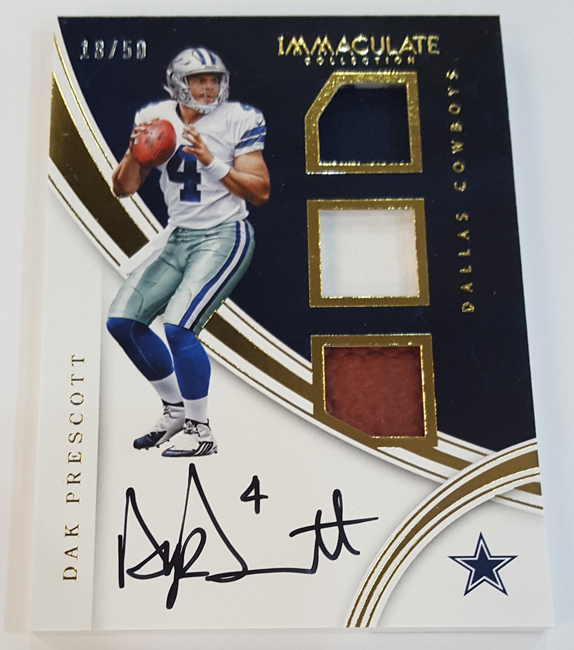 Sports Cards Plus Store Blog 2016 Immaculate Football 375