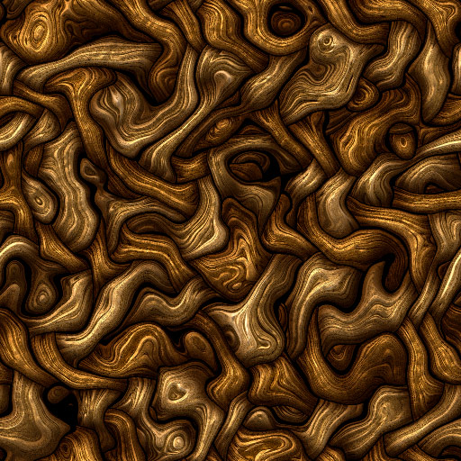 Tangled Intarsia 1