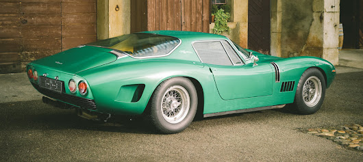 scramblertt: 1968 Bizzarrini 5300 GT Strada Alloy