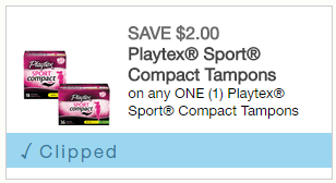 Extreme Couponing Mommy: FREE Playtex Sport Tampons at Rite Aid